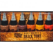 Maks Kornev's  Brick Tone Set WORLD FAMOUS INK