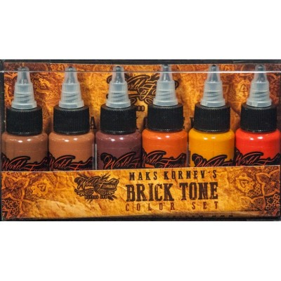 Maks Kornevs  Brick Tone Set WORLD FAMOUS INK