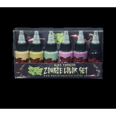 Maks Kornevs Zombie Color Set WORLD FAMOUS INK