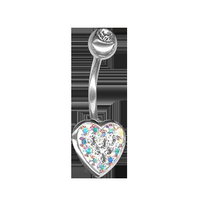 Crystal Heart Titanium 03