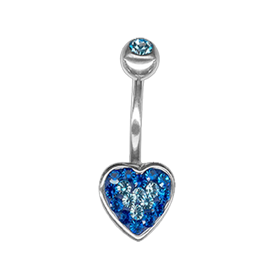 Crystal Heart Titanium 04