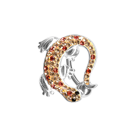Crystal System 360° Lizard