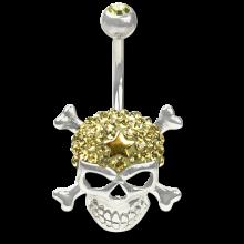 Crystal Skull and Crossbone Titanium 02