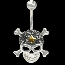 Crystal Skull and Crossbone Titanium  03