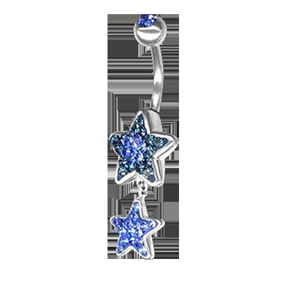 Crystal Star Dangling 03