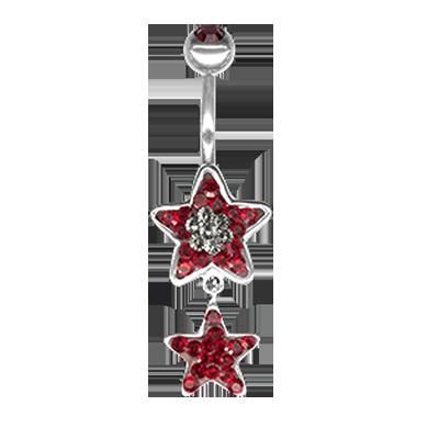 Crystal Star Dangling  04