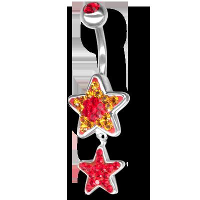 Crystal Star Dangling 06