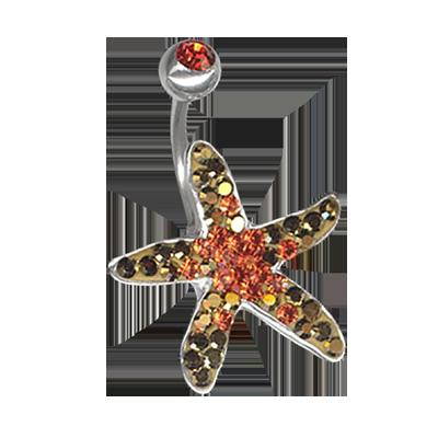Crystal Starfish Titanium  01