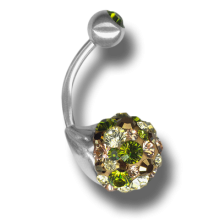 Crystal Sphere Titanium 07