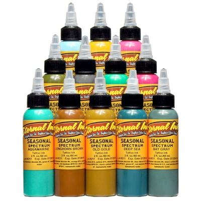 Eternal Seasonal Spectrum 12 Colors Tattoo Ink Set