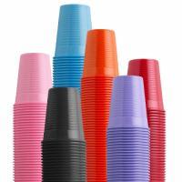 Plastic cups for tattoo studio
