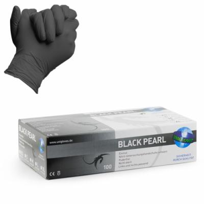 Black Pearl Nitrile Gloves 100pz
