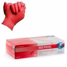Nitrile Gloves Red Pearl 100pz