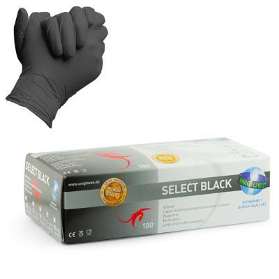 Guanti Select Black Latex