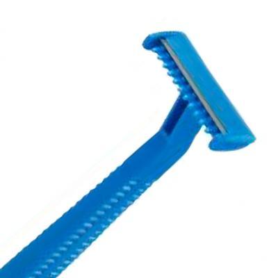 Rasoi Monolama usa e getta con cappuccio protettivo blu