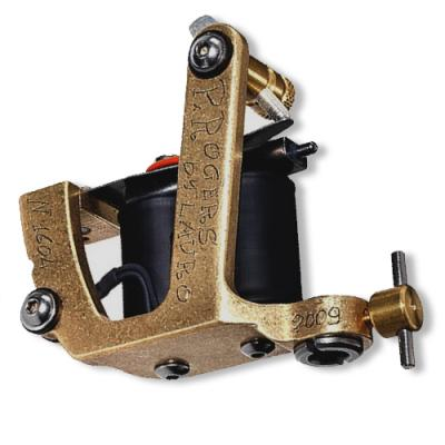 Paul Roger Old Brass Tattoo Machine by Lauro Paolini, Color\Shader