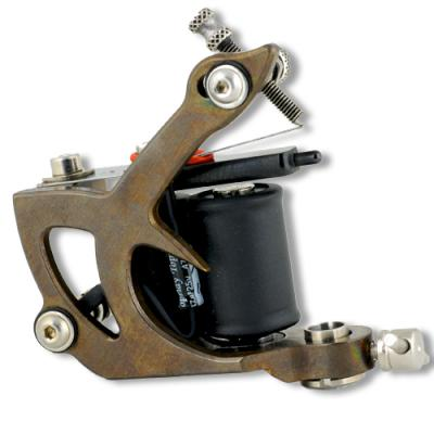 Raffaello Brass Tattoo Machine by Lauro Paolini, Color\Shader