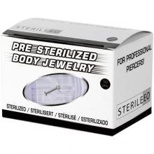Pre-sterilized Titanium Labret with Ball Swarovski