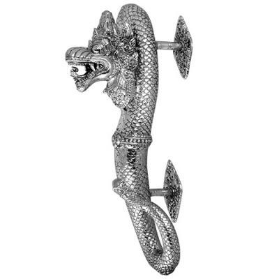 Maniglia per porta - Dragone Color Argento