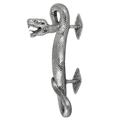 Maniglia per porta - Serpente Color Argento