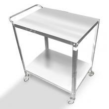 Steel cart 2 shelves