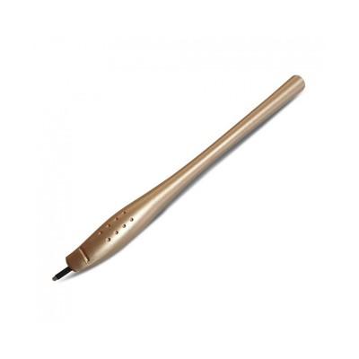 Crystal Cosmetics - Microblading Pen - U Shape Gold