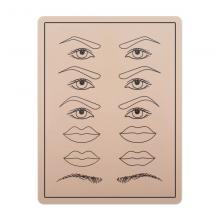 Printed Practice Permanent Make up Pad