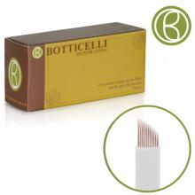 Botticelli Microblading Needles Blade Curved -18Needles 0.20*25