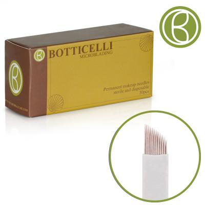 Botticelli Microblading Needles Blade Curved -21Needles 0.20*25