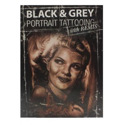 DVD Black & Grey Portrait Tattooing con Remis