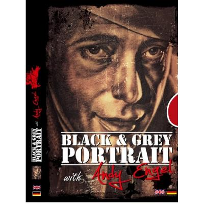 DVD Black & Grey  Portrait with Andy Engel
