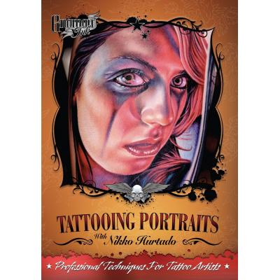 DVD Tattooing Portraits con Nikko Hurtado