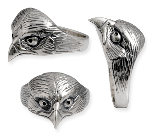 rapace silver ring